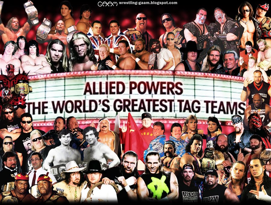 allied powers the world's greatest tag teams