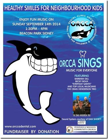 Orcca sings